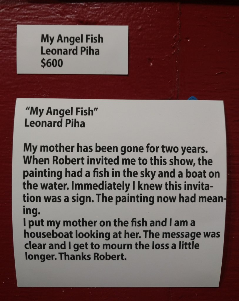 My Angel Fish - text